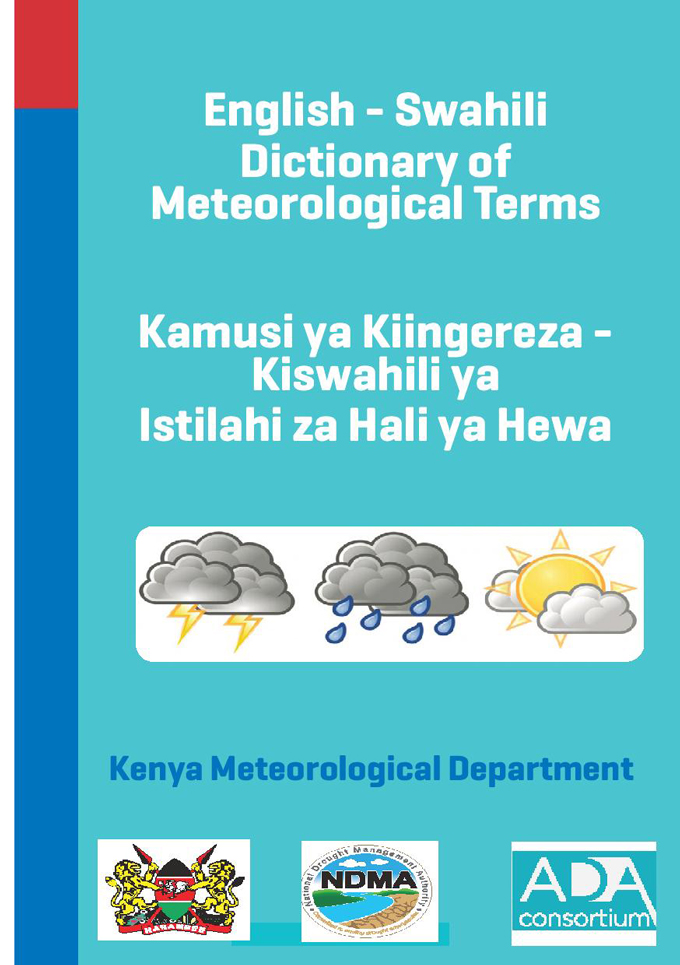 English-Swahili-Dictionary-Metereological-Term