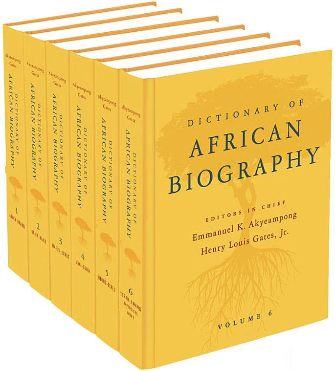 Dictionary-african-biography-book