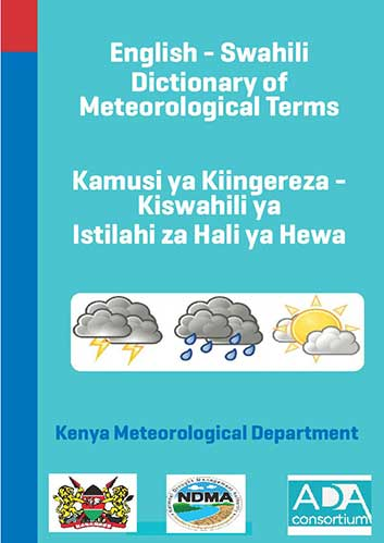 English-Swahili Dictionary of Meteorological Terms