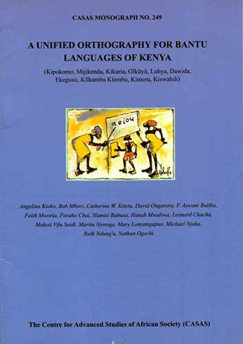 A Unified Orthography for Bantu Languages in Kenya